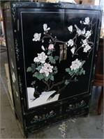 Oriental Inlay Cabinet