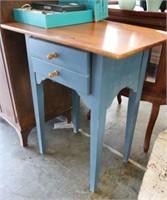 Wood Desk w/Drawer
