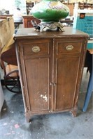 Antique 2 Door Cabinet