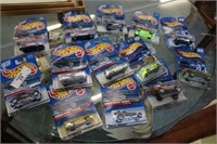 13 Hotwheels in Packages