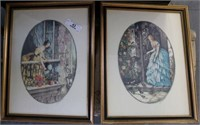Pair of Victorian Framed Prints
