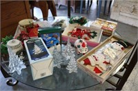 Large Lot of Vintage Christmas Items
