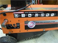 DR 6 ton elec. wood splitter