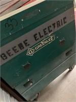 """Greenlee Job Box 48""""x48"""""""