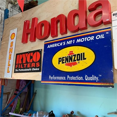 A PENNZOIL & A RYCO FILTERS SIGN Other Items For Sale 1