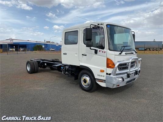 2010 Hino 500 Series 1124 FD Crew - Trucks for Sale