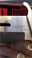 Rambo III Designed by Gil Hibben Knives w/ Sheath