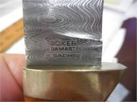"Boker 9"" Fixed Damascus Blade"