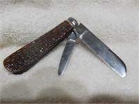 "Boker No Name Knife 3.25"" 2 blades"