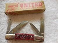 "United Boker 3.75"" Tobacco Jack Congress (box)"