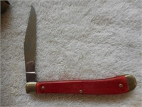 "United Boker 4"" Sportsman Trapper Red UC123RS"