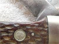"Boker Tree Brand 5.25"" 2-blades, Tree & Solingen"