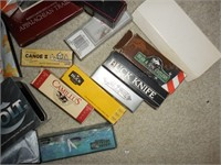 Box of empty knife boxes