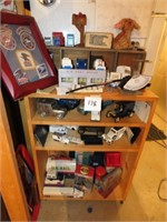 Shelf, Model Cars, Postage Scale, & More