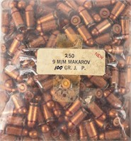 Lot of 9mm Makarov Ammo 1000 Rounds