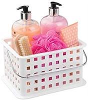 iDesign Spa Plastic Storage Organizer Basket with
