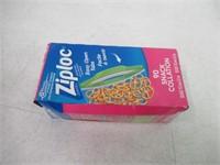 Ziploc Snack Bags with Easy Open Tabs - 90 Count