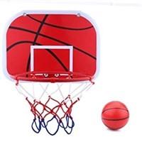 Hanging Mini Basketball Netball Hoop Set, Portable