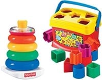 Fisher-Price Rock-a-Stack and Baby's 1st Blocks