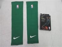 NBA Nike Shooter Sleeves - Green