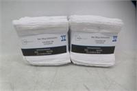 """(2) Mainstays Bar Mop Dishcloth 12 Pack White 12"""""""
