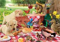 Buffalo Games - Adorable Animals - Picnic Raiders