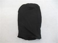 AltSkin 2Face Solid Spandex Mask, Black, Adult