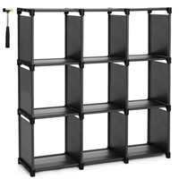 SONGMICS 9-Cube DIY Storage Shelves, Open