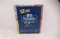 Royale Royale Original 2-Ply Facial Tissue, 12