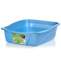 (3) Van Ness Products Cat Litter Pan, Large, 1