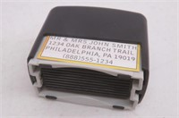 """""""As Is"""" Stamp-Ever DIY Address Stamp, 3/4x2"""","""