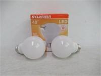 SYLVANIA, 40W Equivalent, LED Light Bulb, A19