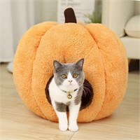 PAWZ Road Halloween Cozy Cat Bed, Puppy Hut Kitty