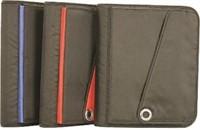 (2) Pen+Gear Pen & Gear Zipper Binder Black,