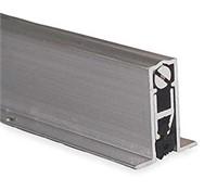Automatic Door Bottom, 9/16x36In, Aluminum