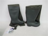 Pro Line PVC Hip Waders Olive M8/W10