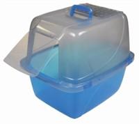 Vanness Enclosed Translucent Cat Pan