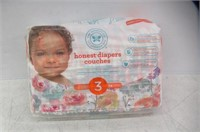Diapers, Size 3, Rose Blossom, 34-Count