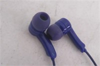 In-Ear Earbud Headphones, Purple - Unknown Make