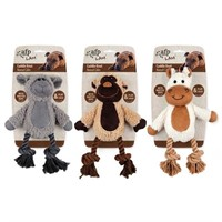 All for Paws Cuddle Knot Plush Dog Toy, Characters