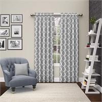 """PAIRS TO GO Vickery 56x84"""" Rod Pocket Curtain Pair"""