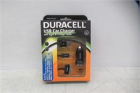 Duracell® DUX8225 USB Car Charger With Sync &