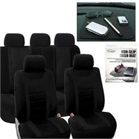 FH Group Universal Fit Full Set Sports Fabric Car