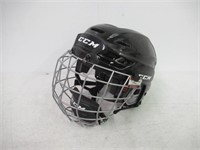 CCM RES100 Hockey Helmet With Cage Black Small