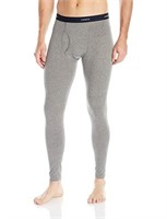 Hanes Men's LG Thermal Pant, Mid Charcoal Heather