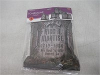 (2) Beistle S01516AZ2 Tombstone Cutouts,