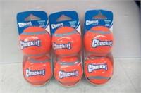 (3) Petmate Chuckit! Tennis Balls, 2-Pack