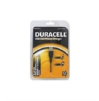 Duracell® DU3101 USB Cell Phone Charger