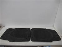 FH Group Car Floor Mats Trimmable Deep Tray Rubber
