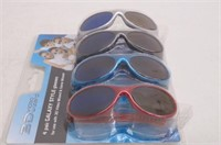 4-Pk Kid's 3D Glasses for 3D Video Wizard or Game